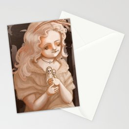 Creepy Girls with Creepy Dolls #2 - Sophie Stationery Cards