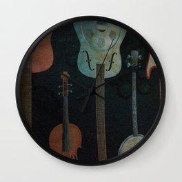 Musical Instruments Wall Clock