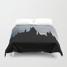 Black Castle Duvet Cover