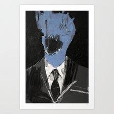 Salesman 3. 2015. Art Print