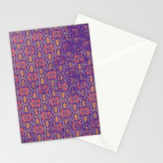 Distressed Spring Pattern Stationery Cards