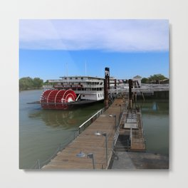 Delta King  Riverboat Metal Print