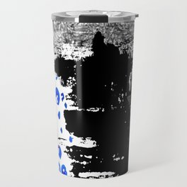Abstract Smudges and Bubbles Travel Mug