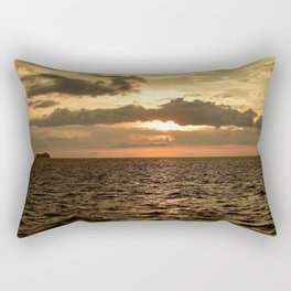 Sunset at Tamarindo Rectangular Pillow
