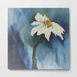 Alpine Marguerite Daisy Metal Print