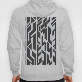 black and White.  Hoody
