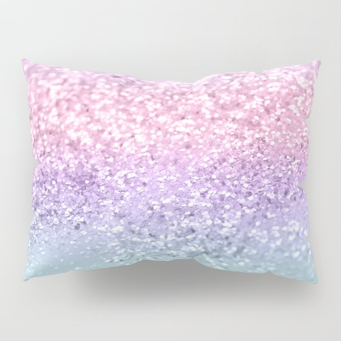 Unicorn Girls Glitter #1 #shiny #pastel #decor #art #society6 Pillow Sham