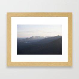 Land: Mountainous Framed Art Print