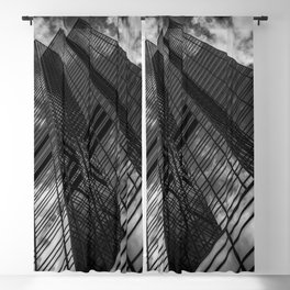 Glass Towers Blackout Curtain
