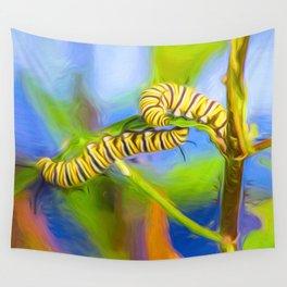 Caterpillar Duo Wall Tapestry