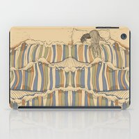 artists iPad Cases featuring Ocean of love by Huebucket