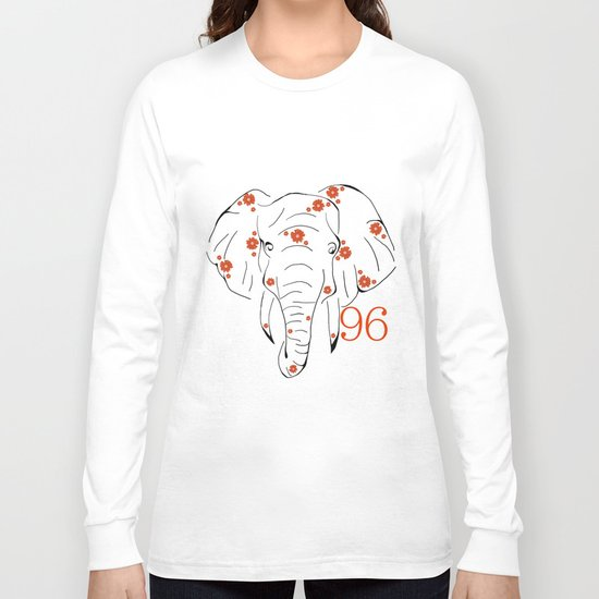 96 Elephants Long Sleeve T-shirt