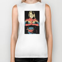captain Biker Tanks featuring Captain by Shop 5