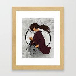 Battousai Framed Art Print