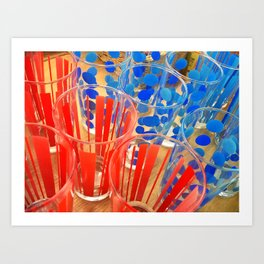 Cheap Glasses Art Print
