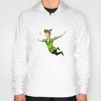 peter pan Hoodies featuring Peter Pan by JackEmmett