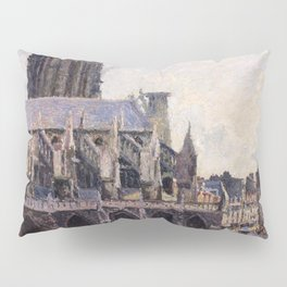 The Saint-jacques Church In Dieppe - Digital Remastered Edition Pillow Sham