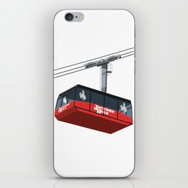 Jackson Hole Cable Car iPhone Skin