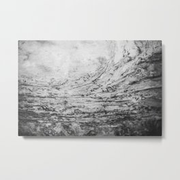 Cave Ceiling Metal Print