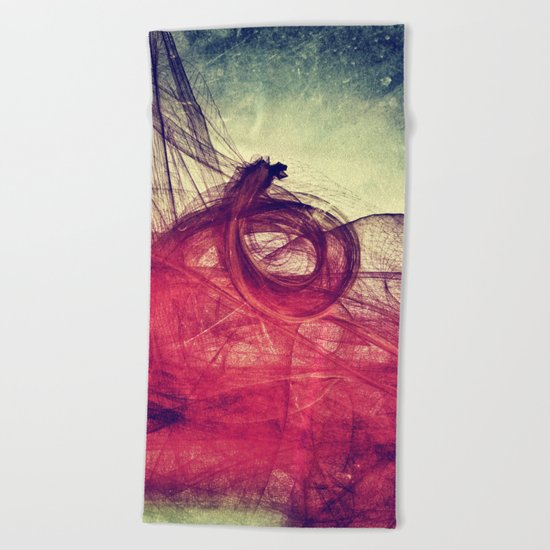 Of Your Own Doing Beach Towel