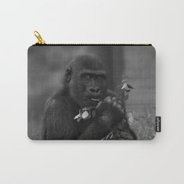 Cheeky Gorilla Lope Mono Carry-All Pouch