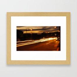 Sunset in Palm Beach III Framed Art Print