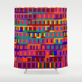 Beethoven Moonlight Sonata (Jewel Tones) Shower Curtain