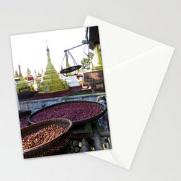 View from the Nunnery, Myanmar Stationery Cards