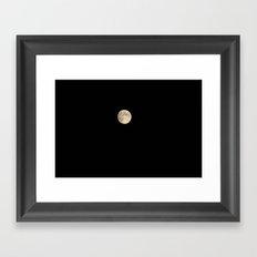 da moon da moon Framed Art Print