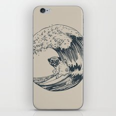 Summer and The Pug  iPhone & iPod Skin