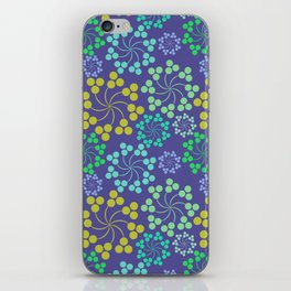 Fun Multicolored Whirligig Pattern iPhone Skin