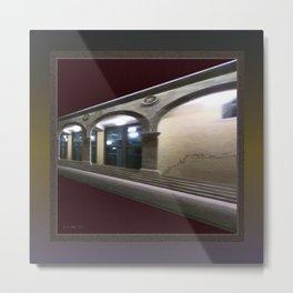 Imaginary Corridors Metal Print