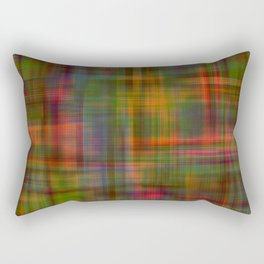 Multicolored Abstract Modern Pattern Rectangular Pillow
