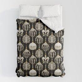 Skeleton Baubles Pattern Comforters