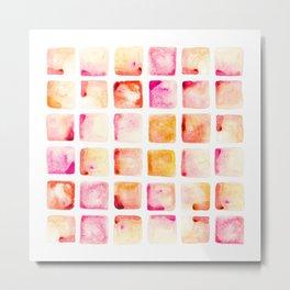 Peach Cobbler Metal Print