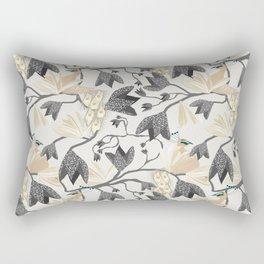 Peacocks Territory Light Rectangular Pillow