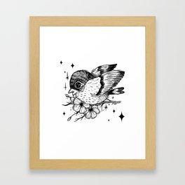 Birb Framed Art Print