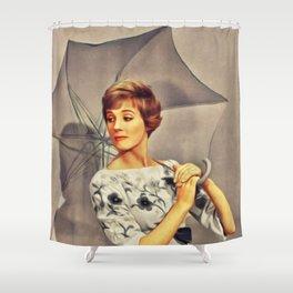 Julie Andrews, Movie Star Shower Curtain