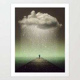 Weathering the Storm II Art Print