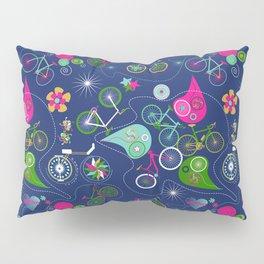 Cycledelic Blue Pillow Sham