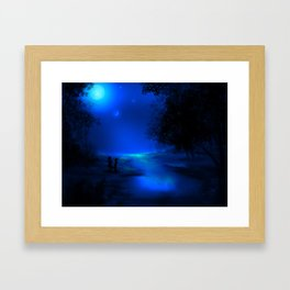 Moonscape Framed Art Print