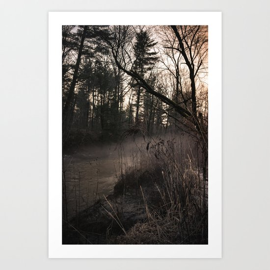 Winter's Hold Art Print