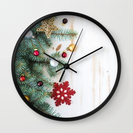 Christmas Decoration 01 Wall Clock