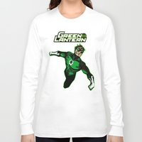 green lantern Long Sleeve T-shirts featuring Green Lantern by Metalot