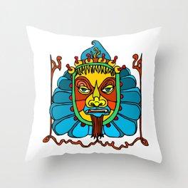 Ancient Egyptian Painting - Female Deity Throw Pillow
