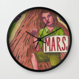 University of M.A.R.S. Wall Clock