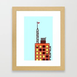 Paphù VS Supaguy Framed Art Print