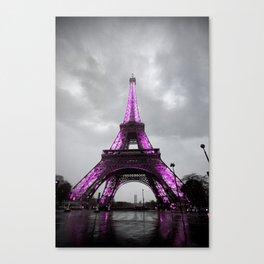 Pink Paris Canvas Print