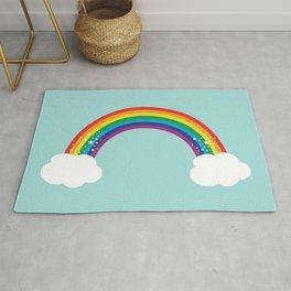 Sparkly Rainbow Rug