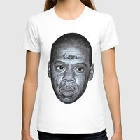 jay z T-shirts featuring JAY-Z by Jahwan by JAHWAN
